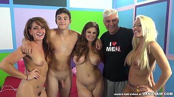 YOUNG FAN has FUN with Pornstars - Allison Moore, Britney Amber, Savannah Fox