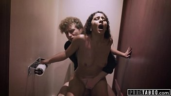 PURE TABOO Nympho Wife gets Risky Creampie From Stranger 13 min