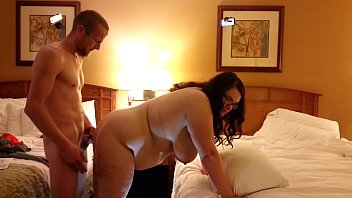 Bbw wife fucked from behind...huge swinging tits 5 min