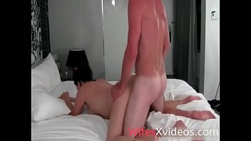 Fucking with my wife in a hotel