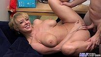MILF Trip - Super horny blonde big-boobed MILF can't get enough cock - Part 1 14 min