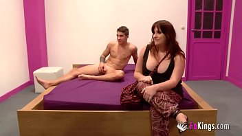 Pregnant woman needs will do anything for money in a porn casting