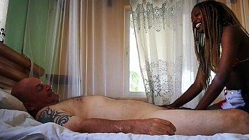 Best HD Ebony massage  fuck and cum in mouth 23 min