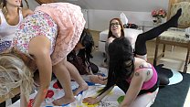 Shortest School Girl Skirts Ever Twister Teens Party at Home