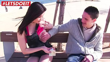 LETSDOEIT - Amateur Spanish Guy Fucks Apolonia Lapiedra in His First Porn 11 min