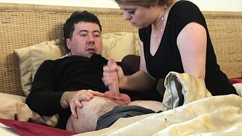 Stepmom gives stepson a handjob after husband dies - Erin Electra