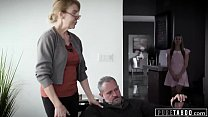 PURE TABOO Delinquent Teens Corrupted by Pervert Step-Grandpa 14 min