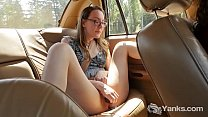 Yanks Sierra Cirque's Hot Backseat Humping Orgasm