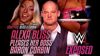 Wrestling Exposed - Alexa Bliss pleases her boss Baron Corbin 3 min