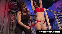 Officer Its Cleo Tied & Tickled By Saharra Huxly!