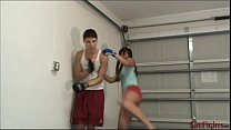 Cindy Destroy Smartass Guy - Painful Kicks Right in the Face