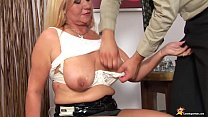 chubby mom rough big cock fucked