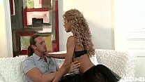Petite teen Victoria Tiffani gets her small ass stuffed with big fat cock