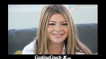 CastingCouch-X dumb blonde coed needs $$$ 7 min