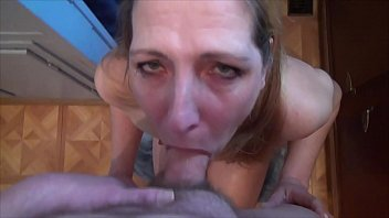 Submissive Wife Nude Cock Cleaning