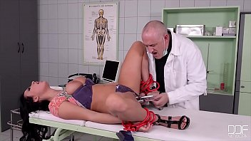 Russian BDSM newbie Linda Brugal humiliated by strong domina Eva Berger