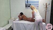 Horny ts massage turns into hard anal 6 min