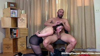 Seducing her Punisher riding his cock and jerking him off 9 min