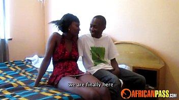 Real African Amateur Teen Blows Boyfriend 5 min