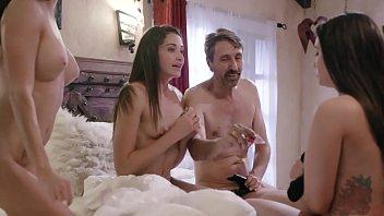 Couple Tricked Teens Into A Weird Foursome - Gia Paige, Avi Love and Silvia Saige 6 min