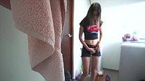 Cute Latina maid seduced and heavily fucked Luciana y Victor 5 min