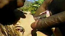 Huge BBC DP Anal Gangbang Teen Babe Pt 2