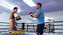BANGBROS - Johnny Castle Turns Up The Heat On Amethyst Banks For Boxing