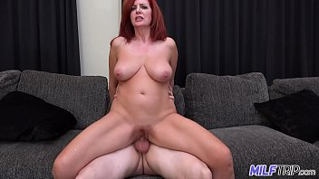 MILFTRIP Big Tit Redhead MILF Creams On Big Dick Fountain Of Youth 12 min