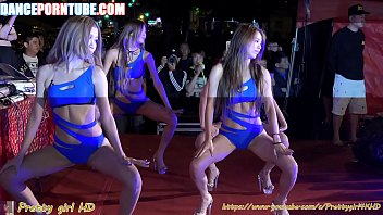 group of asian whores dancing provocatively in swimsuits 3 min