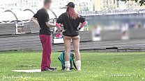 Ass flashing in public by Jeny Smith. Bubble butt hidden spy cam 8 min
