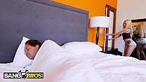 BANGBROS - Petite Blonde Teen Elsa Jean Wakes Stepdad Up For Sex 12 min