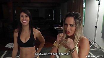 Loren and Veronica Ball Kicking Duel