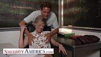 Naughty America - Dee Williams fucks her student 15 min