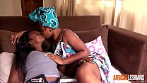 African Lesbians Love Licking Wet Pussy 4 min