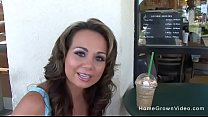 Picked up a hot milf with big tits at starbucks 10 min