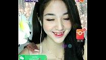 Asian girl livestream Uplive