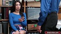 Officer fucks female fraud card user