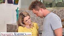 Naughty America - Teen Abby Adams fucks the landscaper 13 min