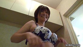 Japanese wife, Meguru Kosaka was naughty, uncensored 5 min