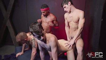 Jacen Zhu, Dexx, Aiden Ward, Alex Meyer – Demonic Fuck Boy (Bareback)