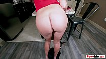 Hot busty stepmother having family taboo sex