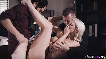 Desperate wife Kenzie Taylor banged in front of  her husband 6 min