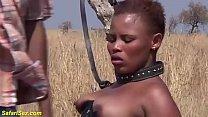 b. african fetish fuck lesson at the savannah
