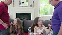 Dad Dick For Lesbian Lovers- Audrey Hempburne & Lily Glee