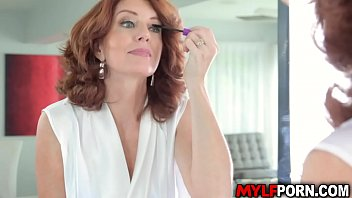 Bustylicious MILF Andi James seduces her stepson and got fucked in the bathroom.She gets wild as she got pounded hard while her huge tits. 8 min