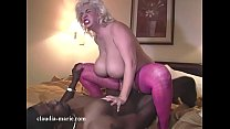 Saggy Tit Bubble Butt Claudia Marie Ravaged By Dark Chocolate Stud