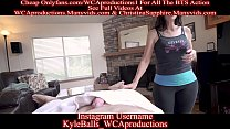 Massage From My Girlfriends Hot Mom Part 1 Christina Sapphire