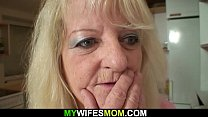 Very old blonde m. in law