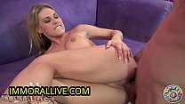 Busty Blonde Charisma Cappelli SQUIRTS for the FIRST TIME thanks to Magic Touch of Crazy Porno Dan!