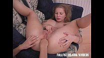 Teen Spreads Butt Cheeks Anal Fisting